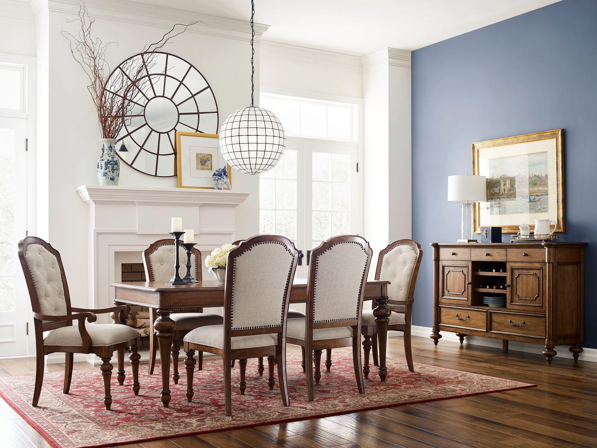 Berkshire Dining Table by American Drew at Mueller Furniture