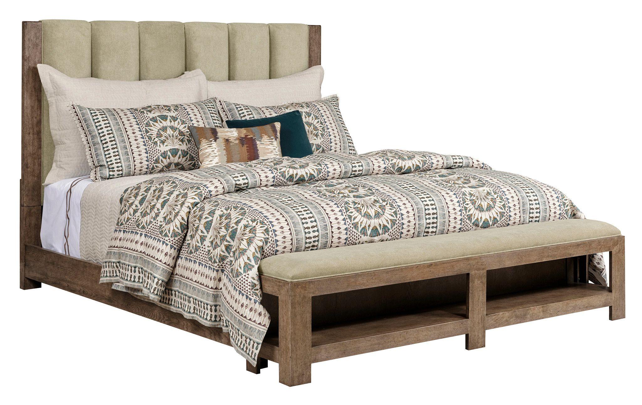 Queen Meadowood Upholstered Bed