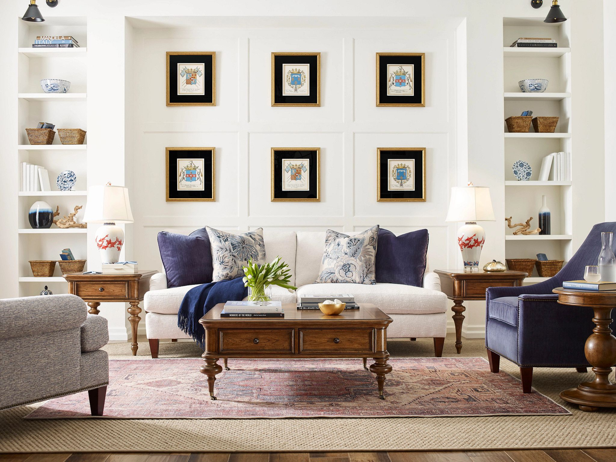 Berkshire End Table by American Drew at Mueller Furniture