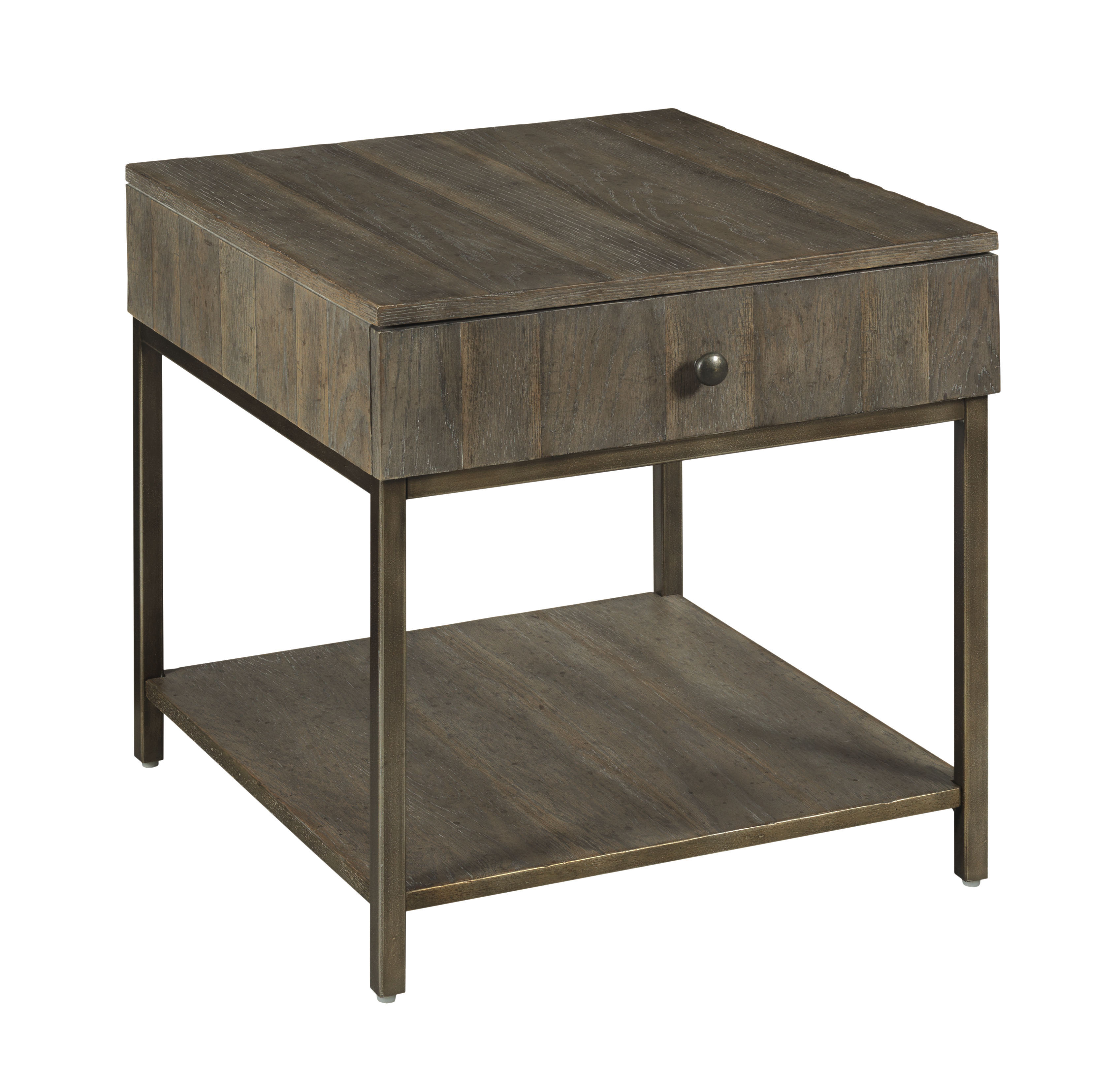 Emporium End Table by Hammary at Esprit Decor Home Furnishings