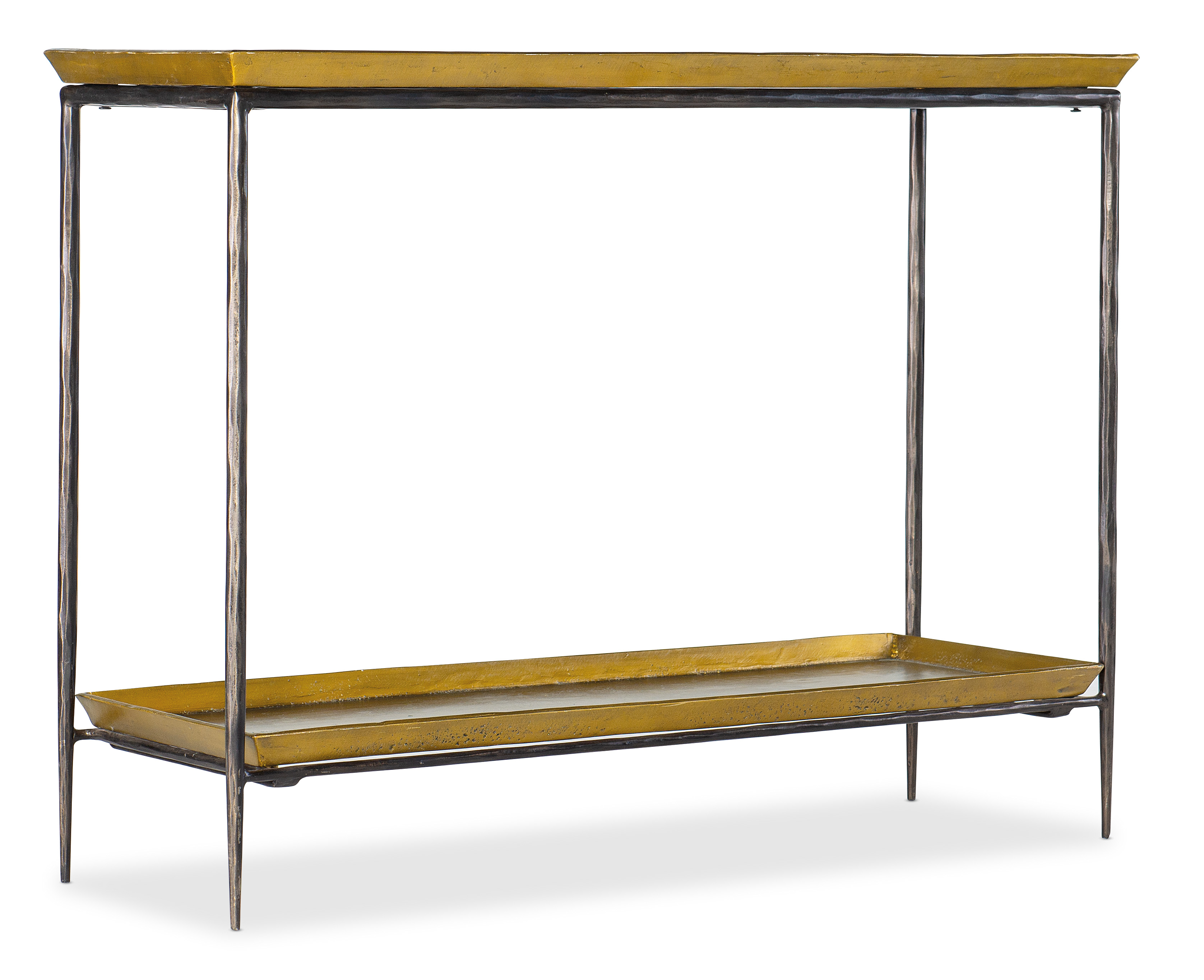 Tray Top Metal Console