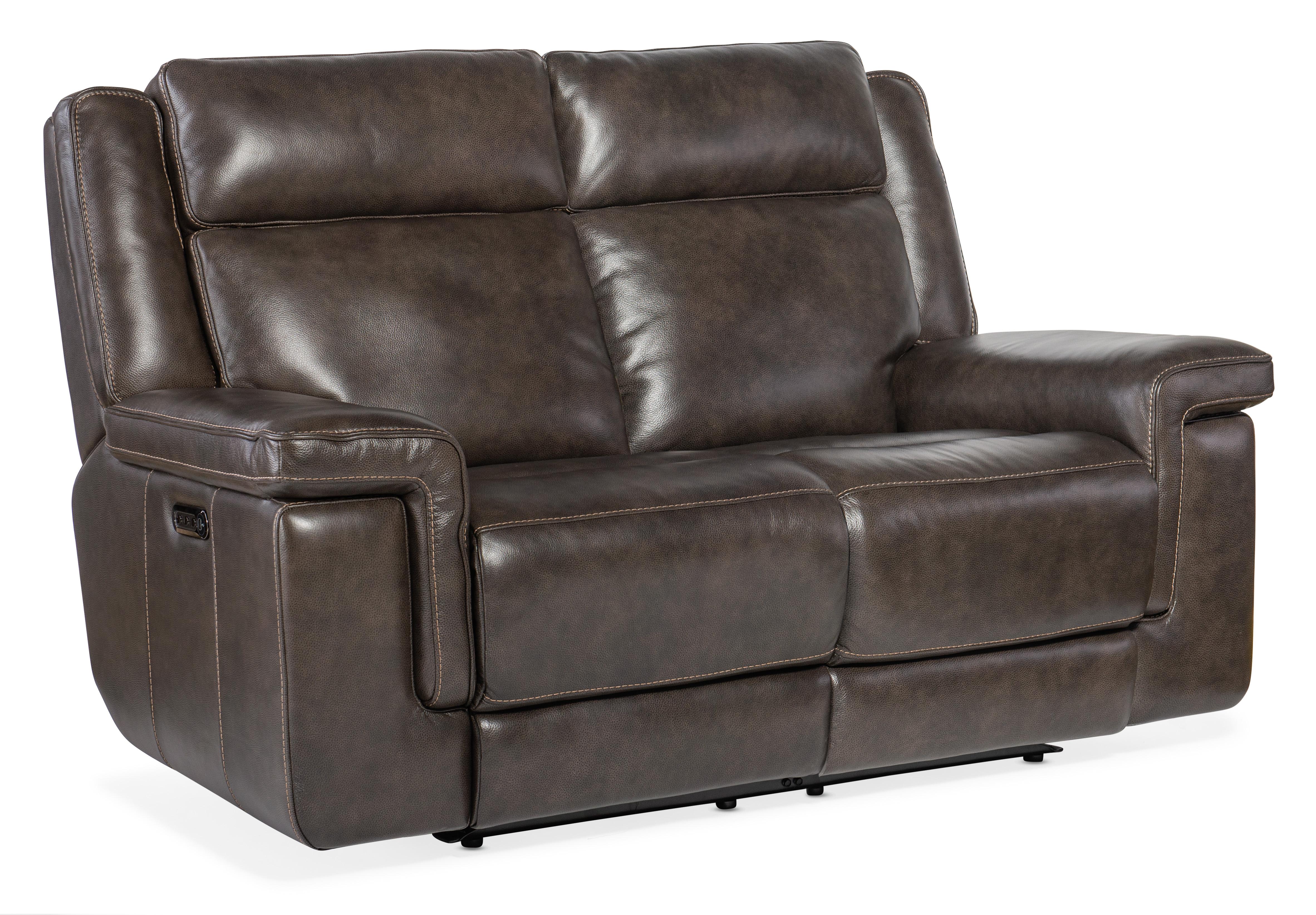 Montel Lay Flat Power Loveseat by Hooker Furniture at Mueller Furniture