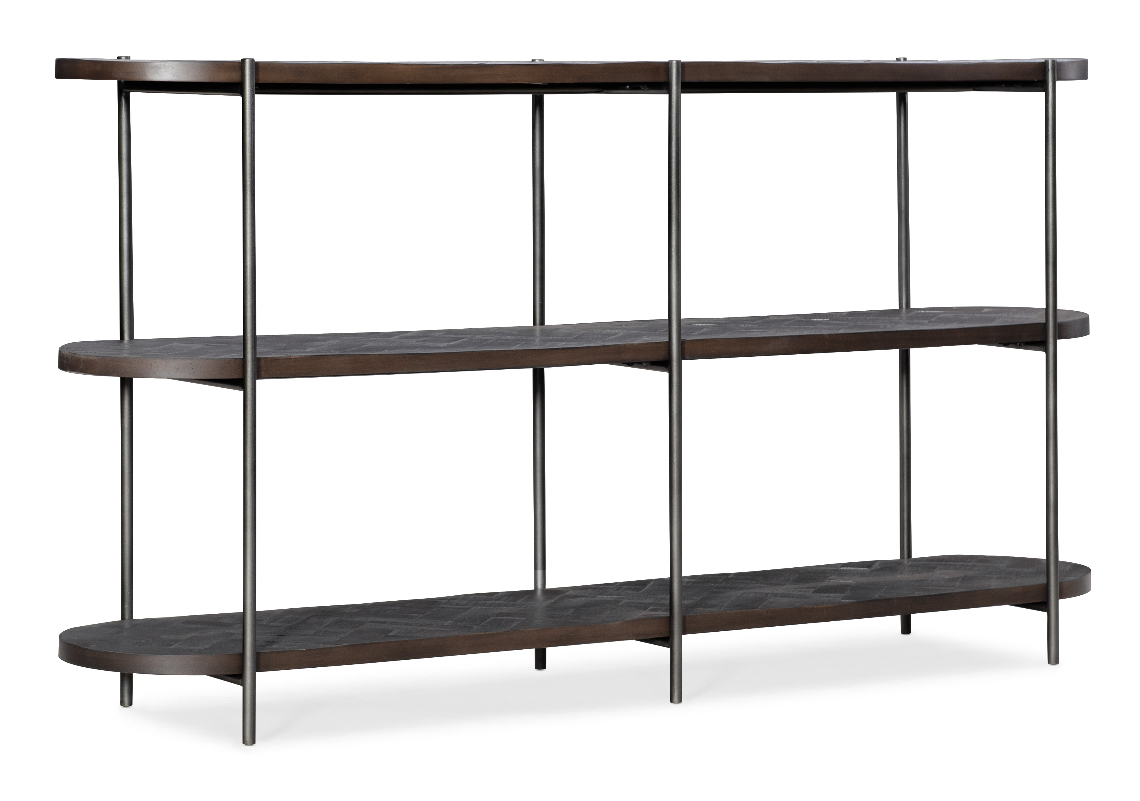 Commerce and Market Console Table by Hooker Furniture at Miller Waldrop Furniture and Decor