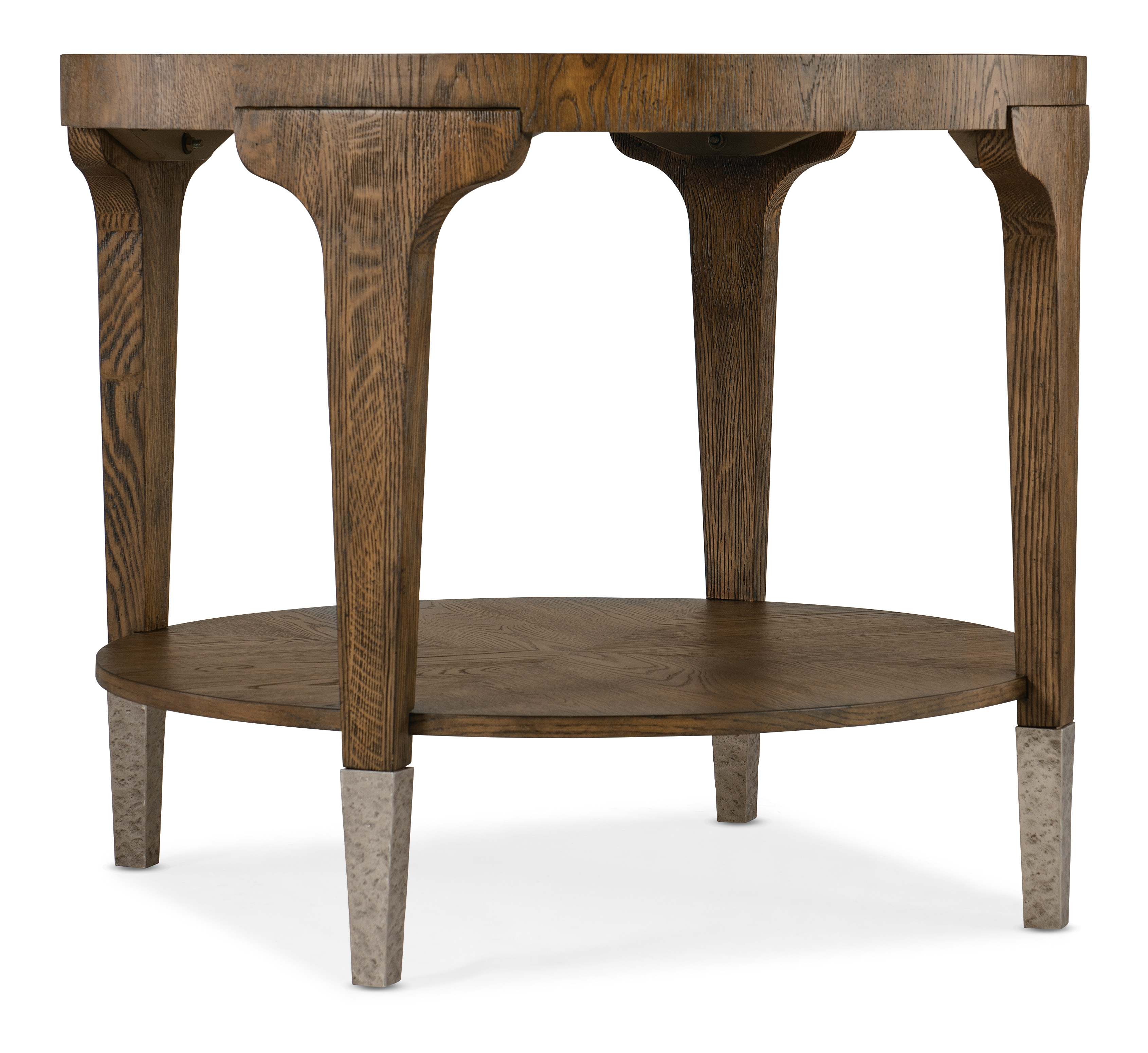 Chapman Round Side Table by Hooker Furniture at Baer's Furniture