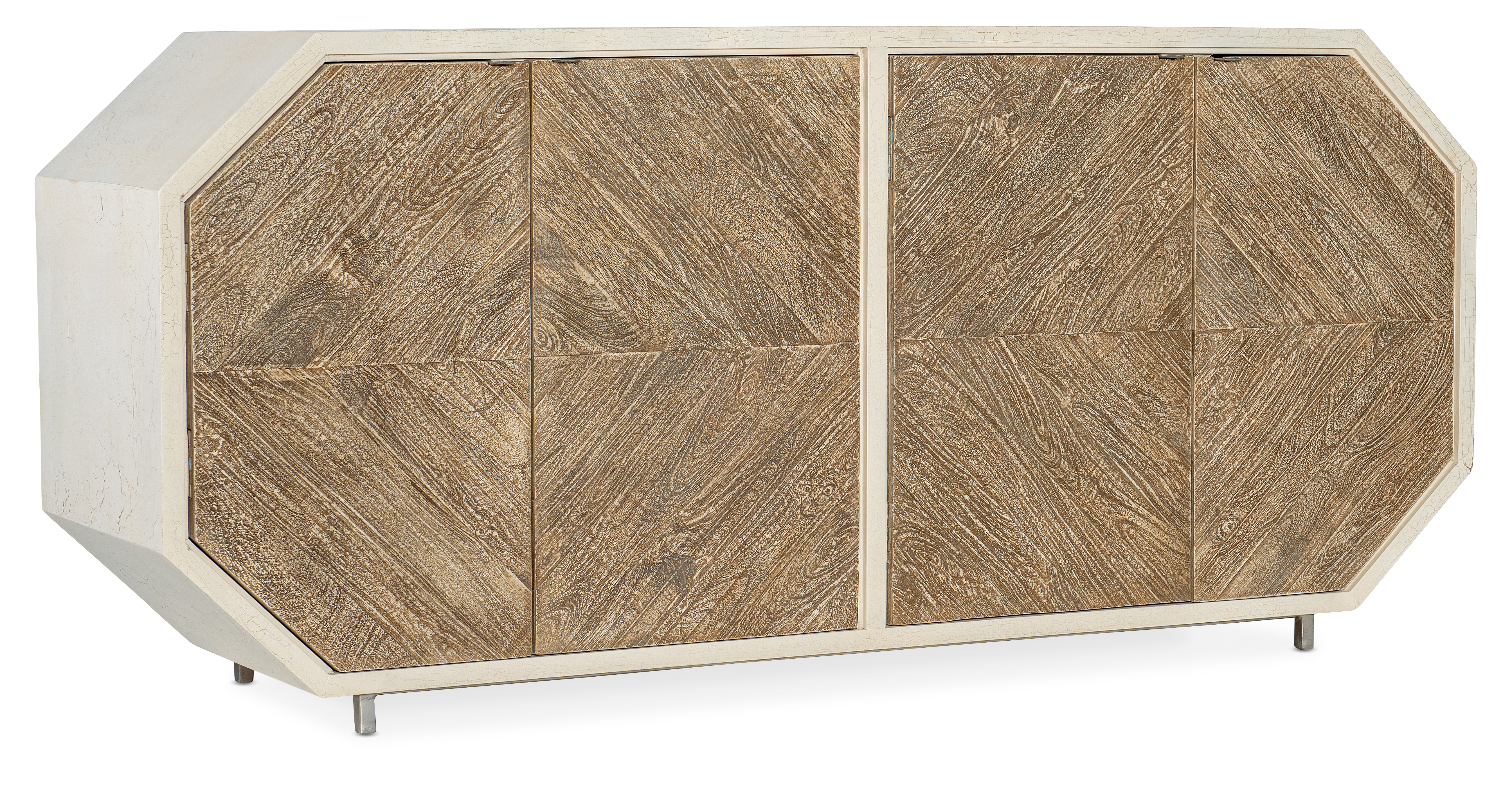 Commerce and Market Angles Credenza by Hooker Furniture at Miller Waldrop Furniture and Decor