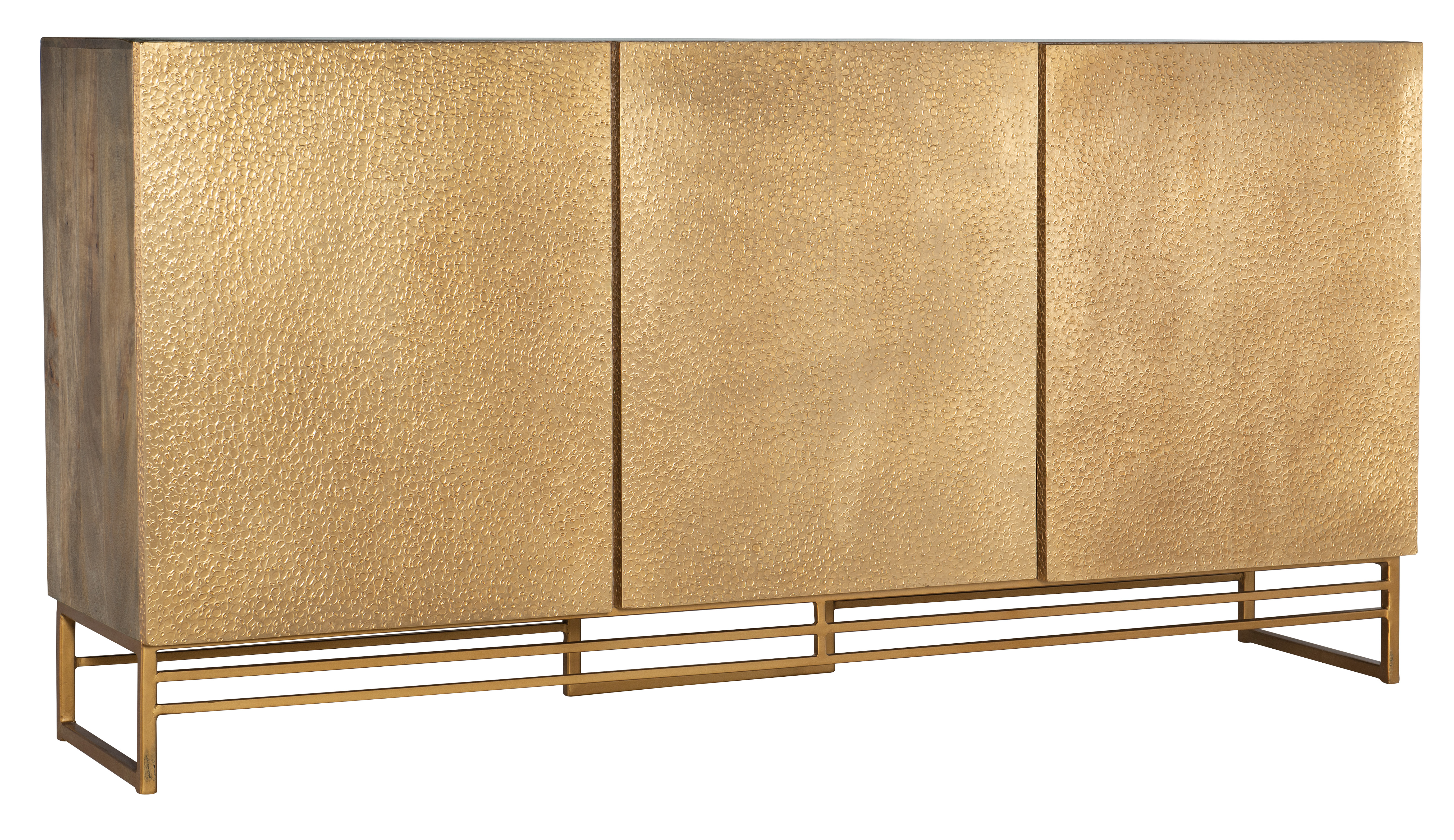 6007-55 69in Entertainment Center by Hooker Furniture at Mueller Furniture