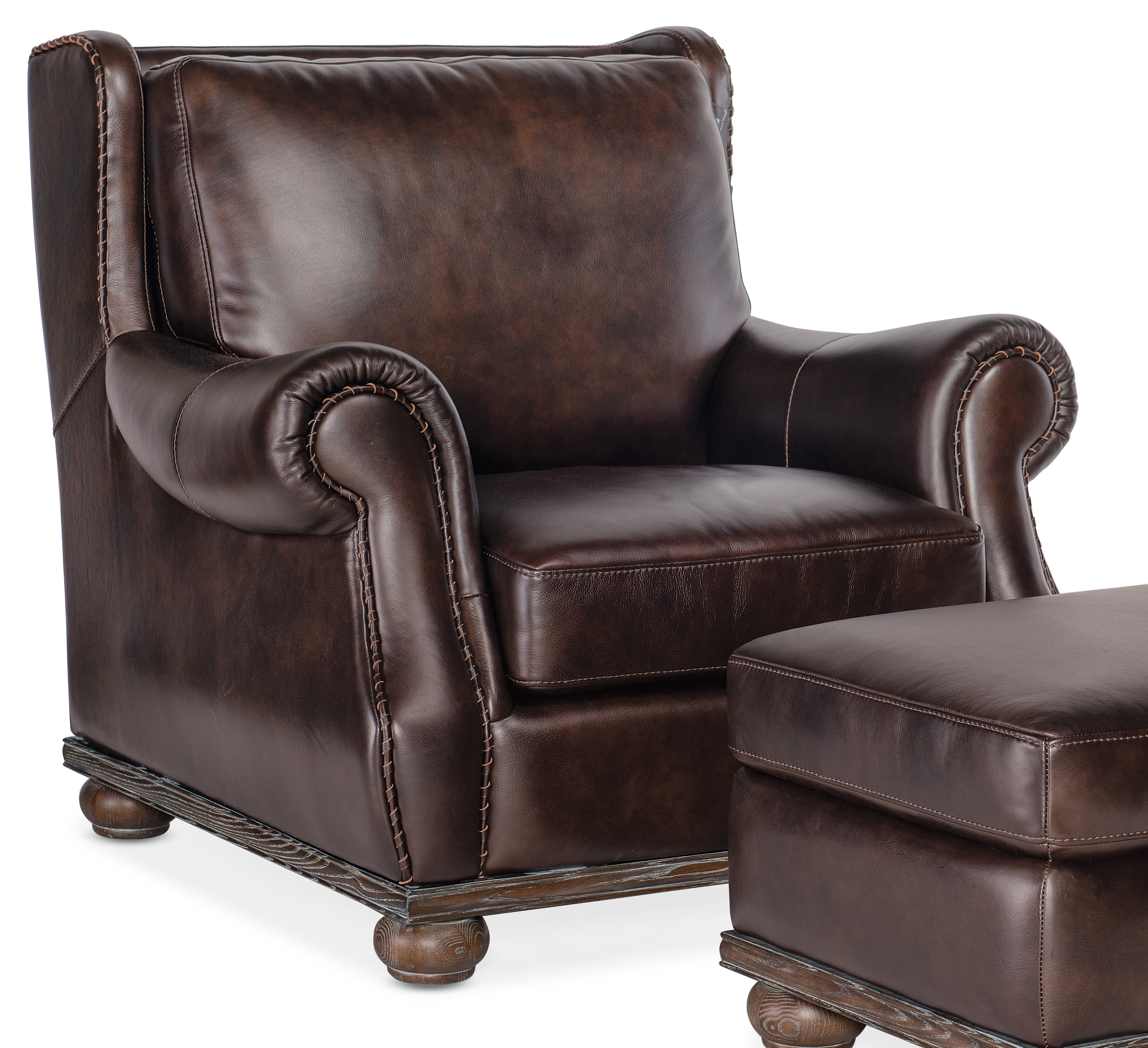 William Stationary Chair by Hooker Furniture at Lindy's Furniture Company