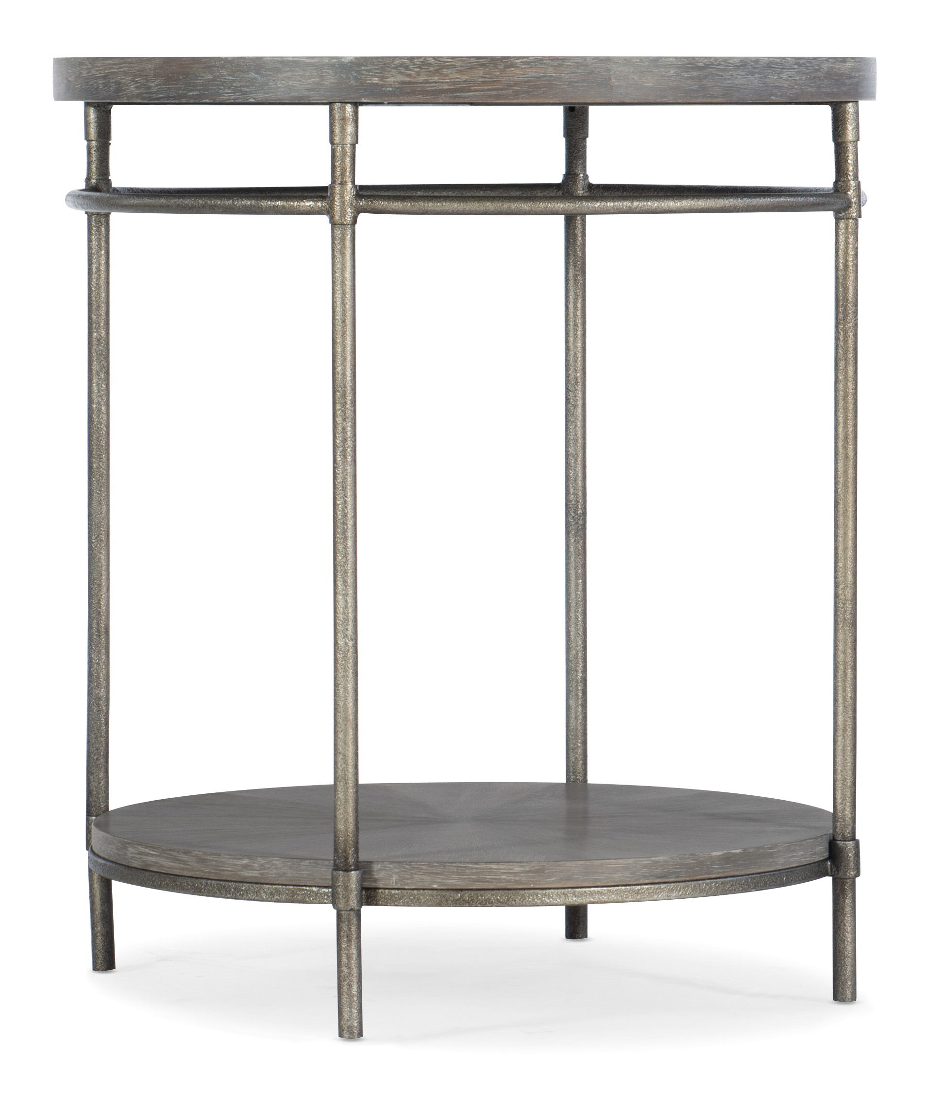 5903-80 Round End Table by Hooker Furniture at Baer's Furniture