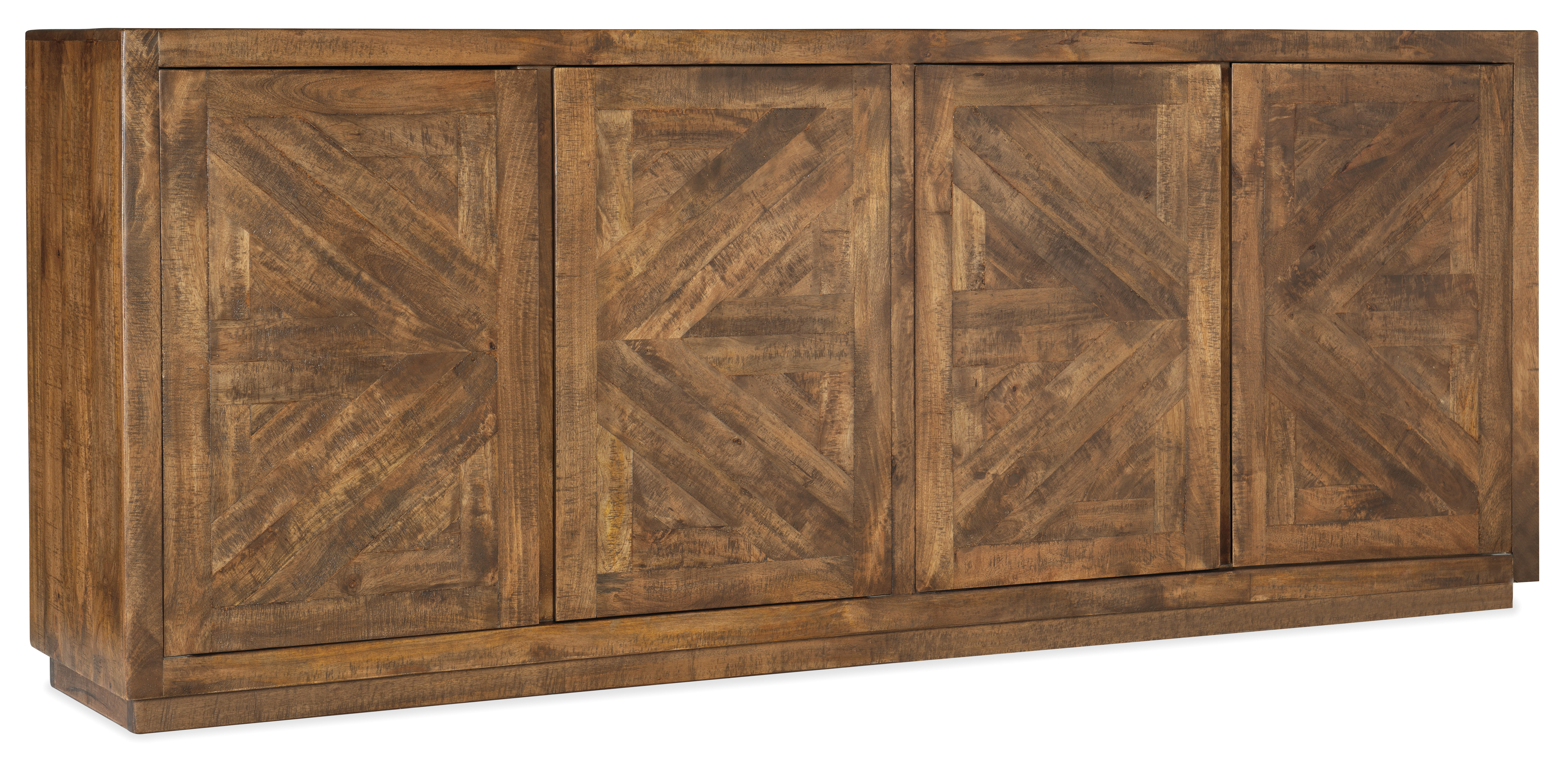 5998-55 Entertainment Console by Hooker Furniture at Gill Brothers Furniture