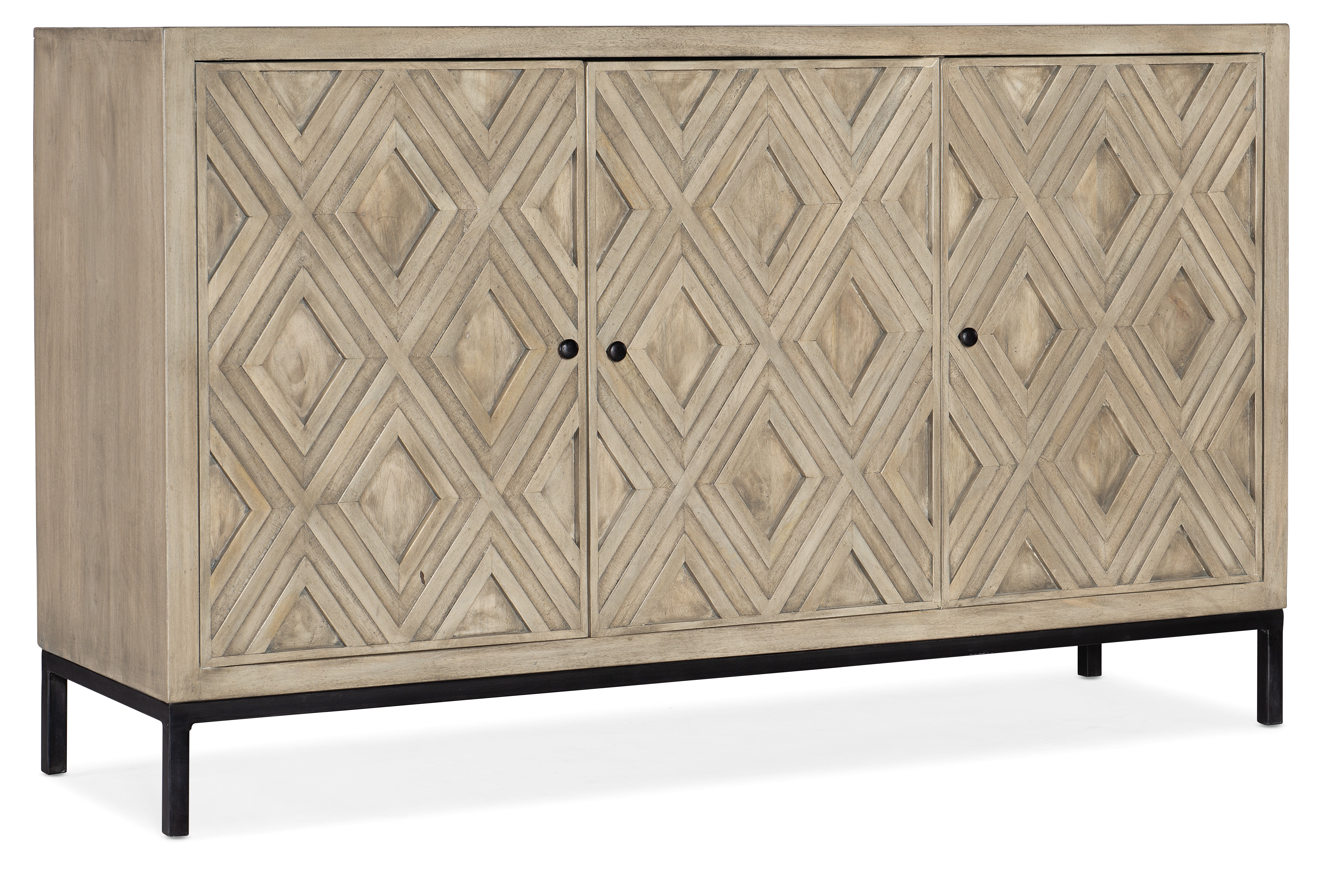 5993-55 Entertainment Console by Hooker Furniture at Mueller Furniture