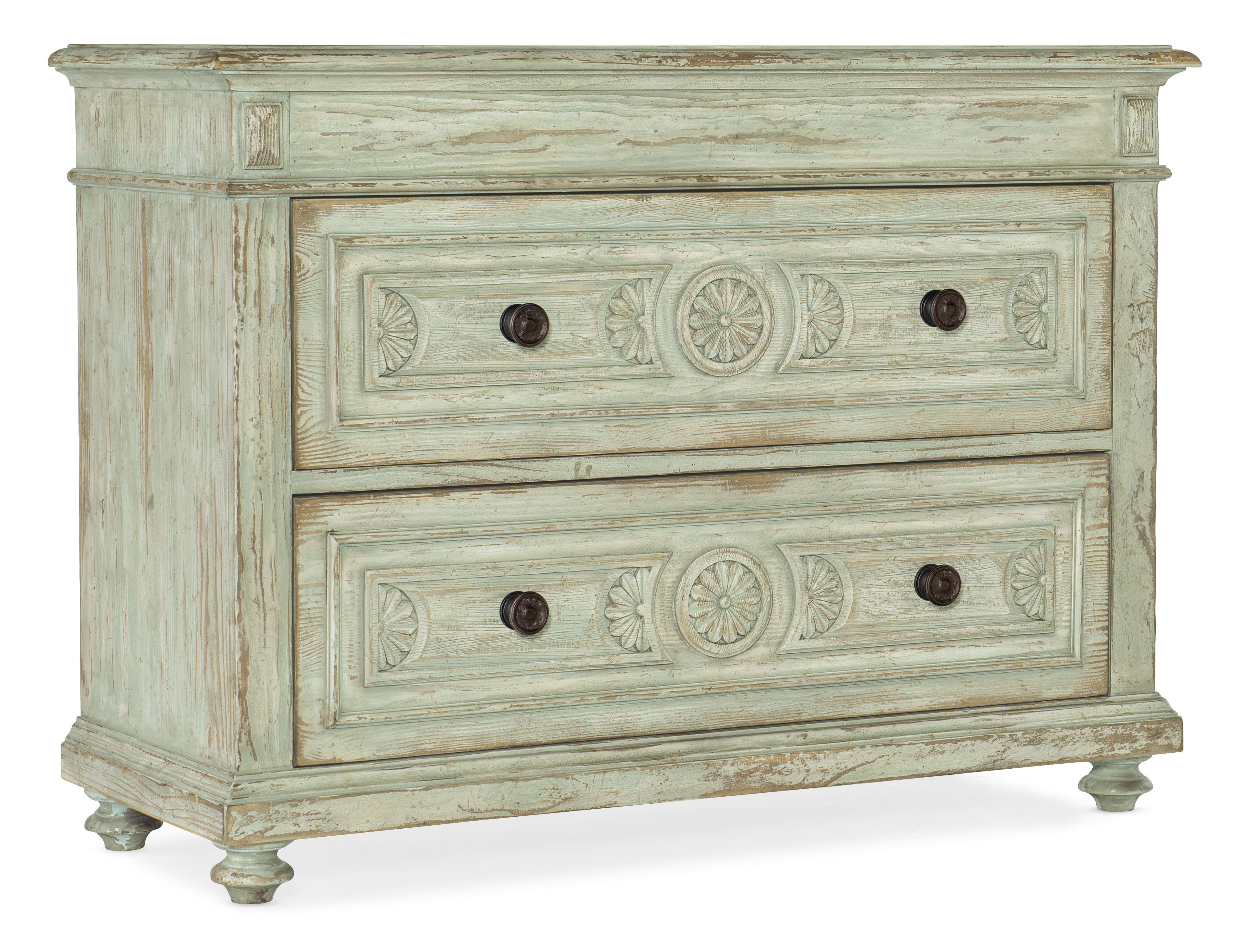 Two-Drawer Accent Chest