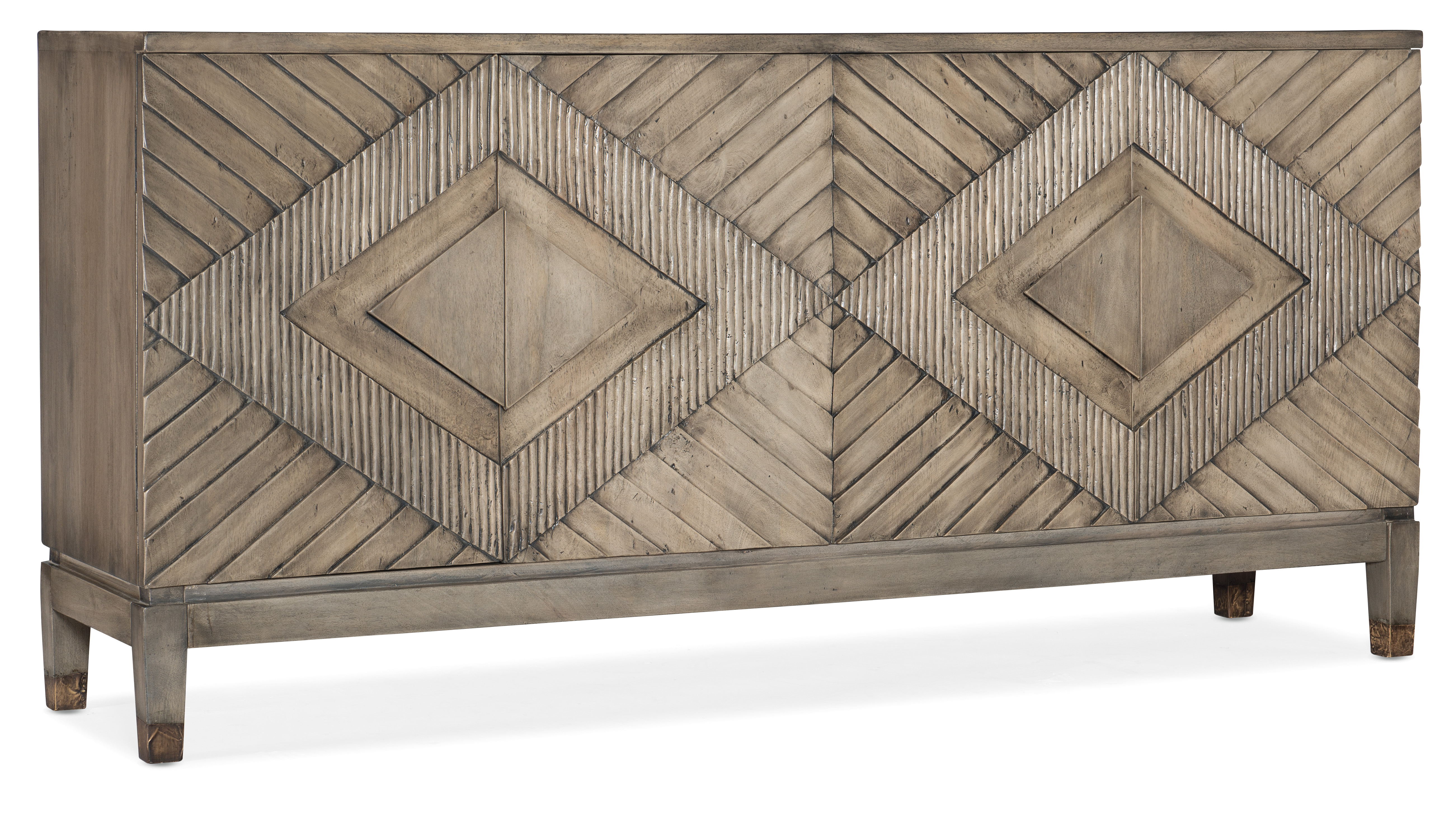 5994-55 Entertainment Console by Hooker Furniture at Baer's Furniture