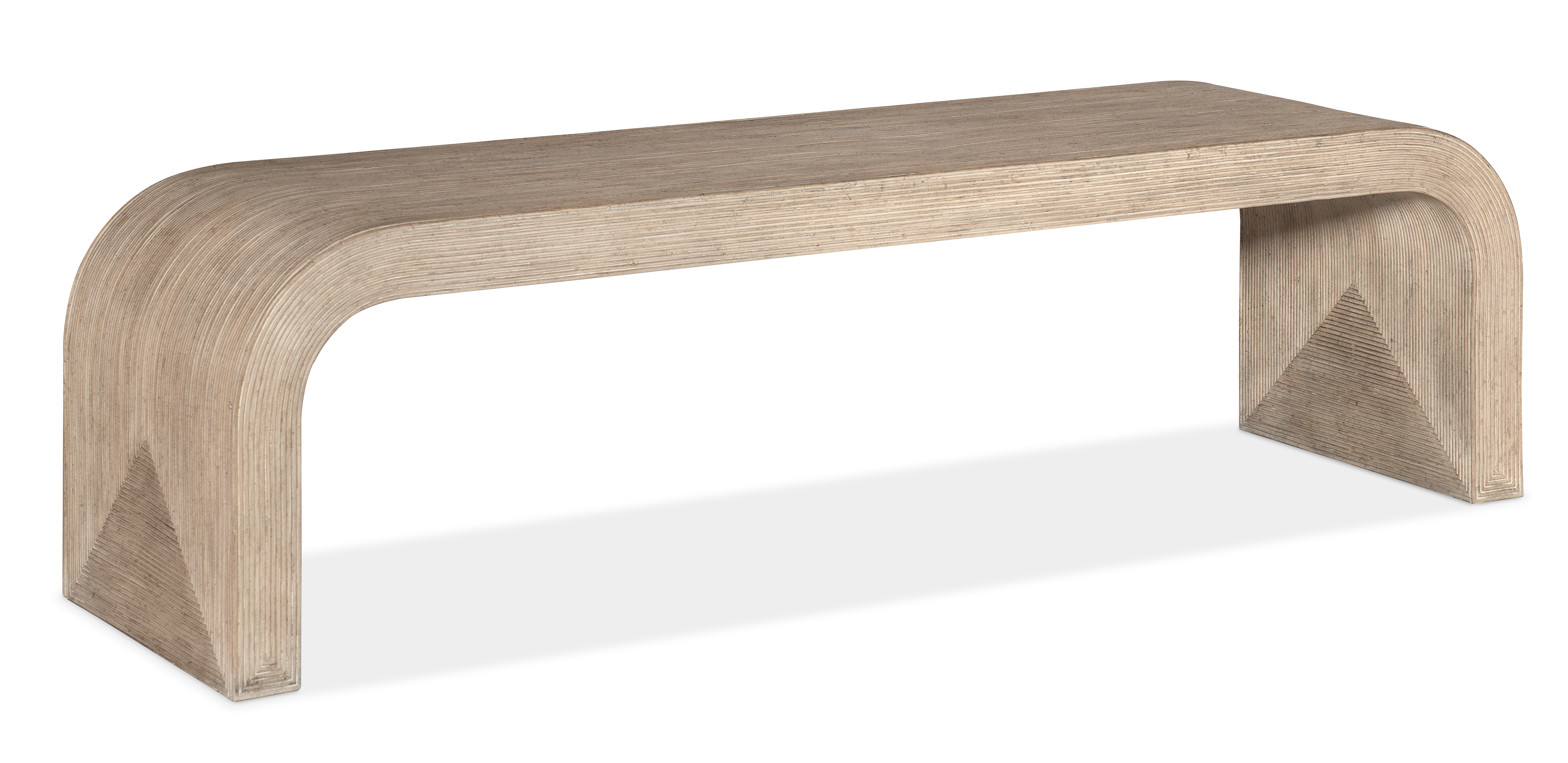 Commerce and Market Bench by Hooker Furniture at Baer's Furniture