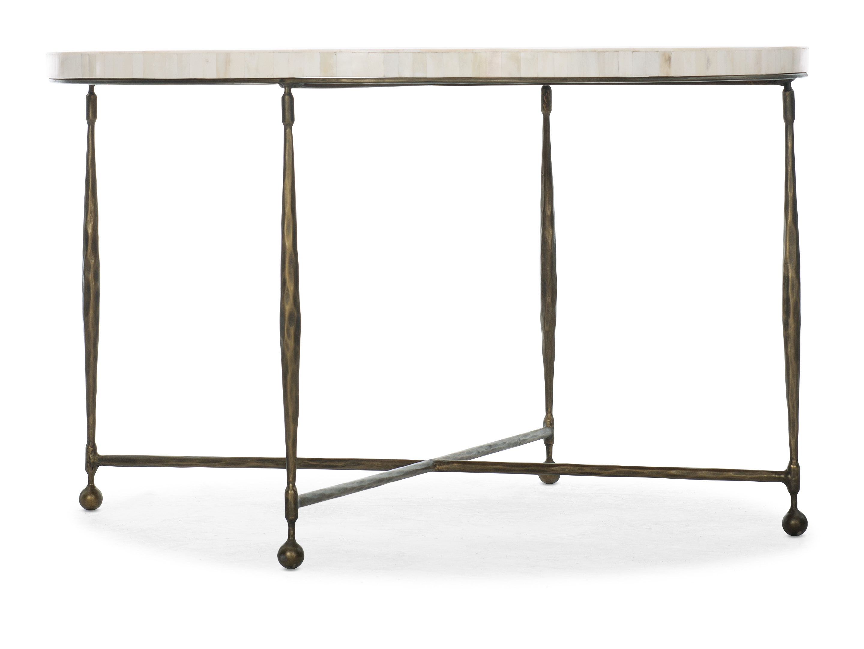 Commerce and Market Round Cocktail Table by Hooker Furniture at Fashion Furniture