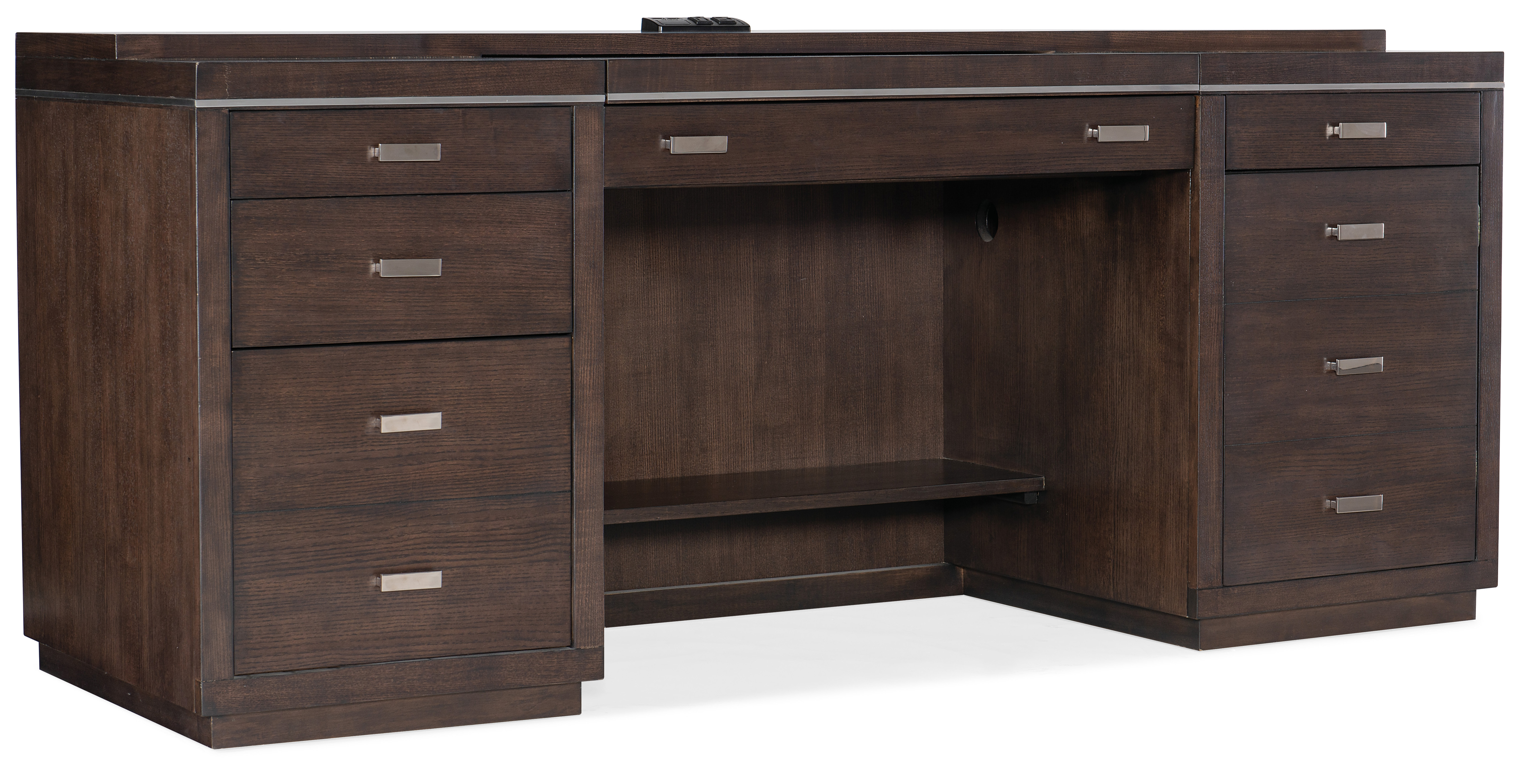 House Blend Computer Credenza by Hooker Furniture at Zak's Home
