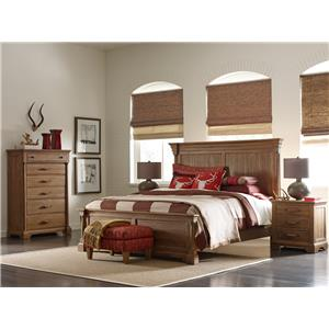 Kincaid Furniture Stone Ridge Transitional Solid Wood Drawer Dresser with Nine Drawers