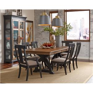 Kincaid Furniture Stone Ridge Formal Dining Room Group