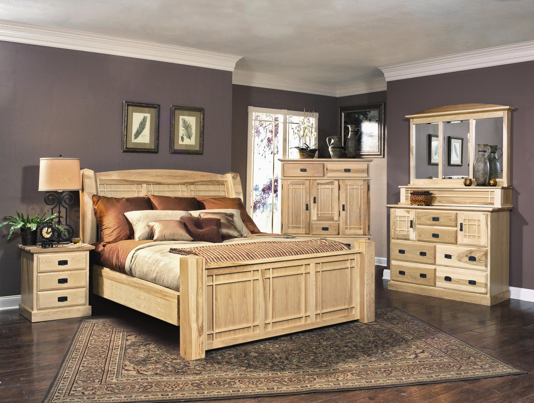 AAmerica Amish Highlands Solid Hickory Mule Chest | Wayside ...
