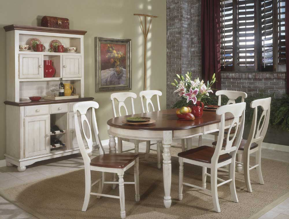 AAmerica British Isles Buttermilk Oval Table U0026 4 Chairs   Furniture Options  New York   Dining 7 (or More) Piece Sets Orange County, Middletown, Monroe,  ...