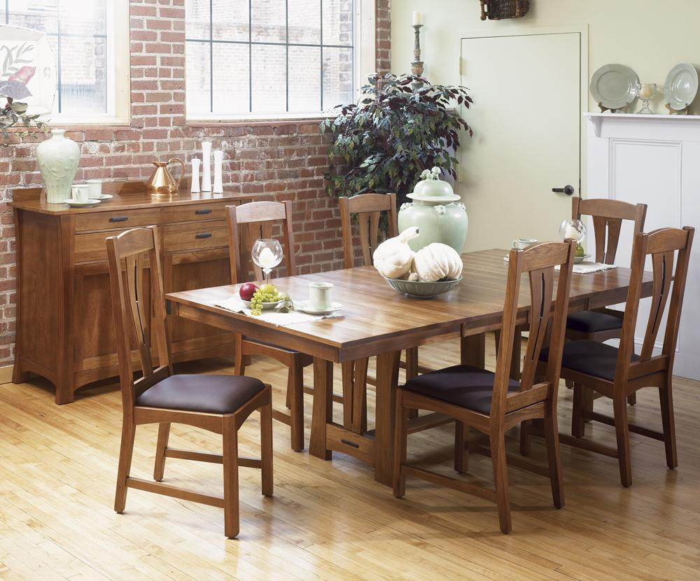 AAmerica Cattail Bungalow Casual Dining Room Group - Item Number: CAT-AM Dining Room Group 1