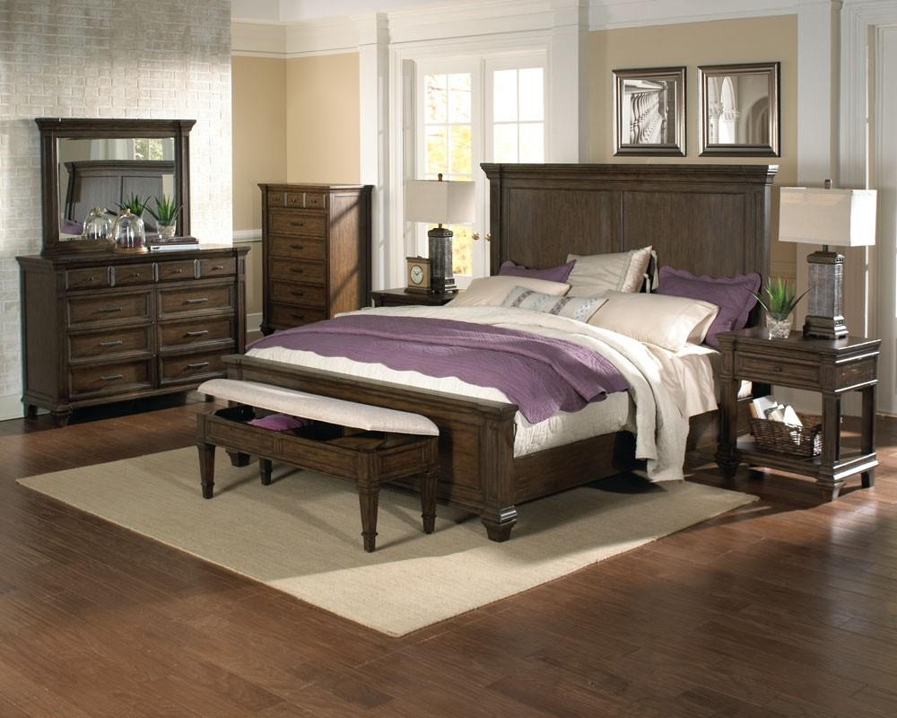 AAmerica Gallatin California King Bedroom Group - Item Number: GLN-TM-5 CK Bedroom Group 1