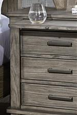 Nightstand pullout shelf