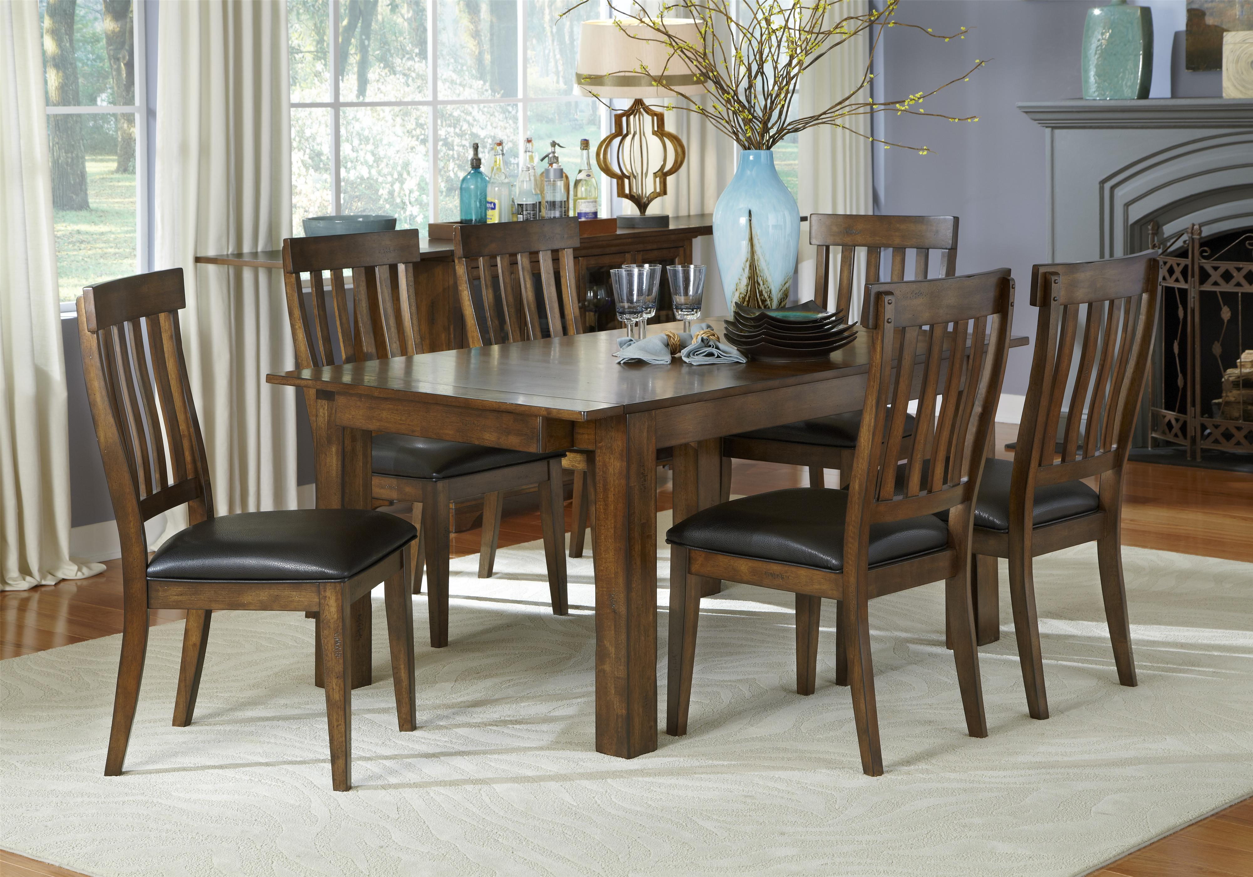 AAmerica Mariposa Casual Dining Room Group - Item Number: MRP Dining Room Group 1