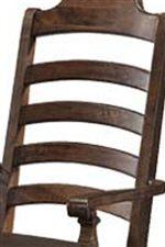 Elegant Ladder Back