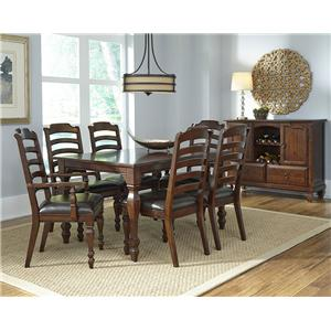 AAmerica Phinney Ridge Estate Slat Back Arm Chair