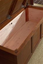 Cedar Lined Storage Bench