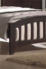 Subtle Arched Footboard