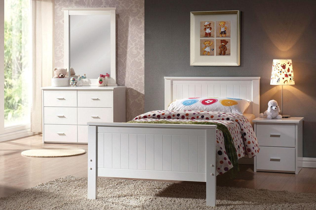 Acme Furniture Bungalow Twin Bedroom Group - Item Number: 3003 T Bedroom Group