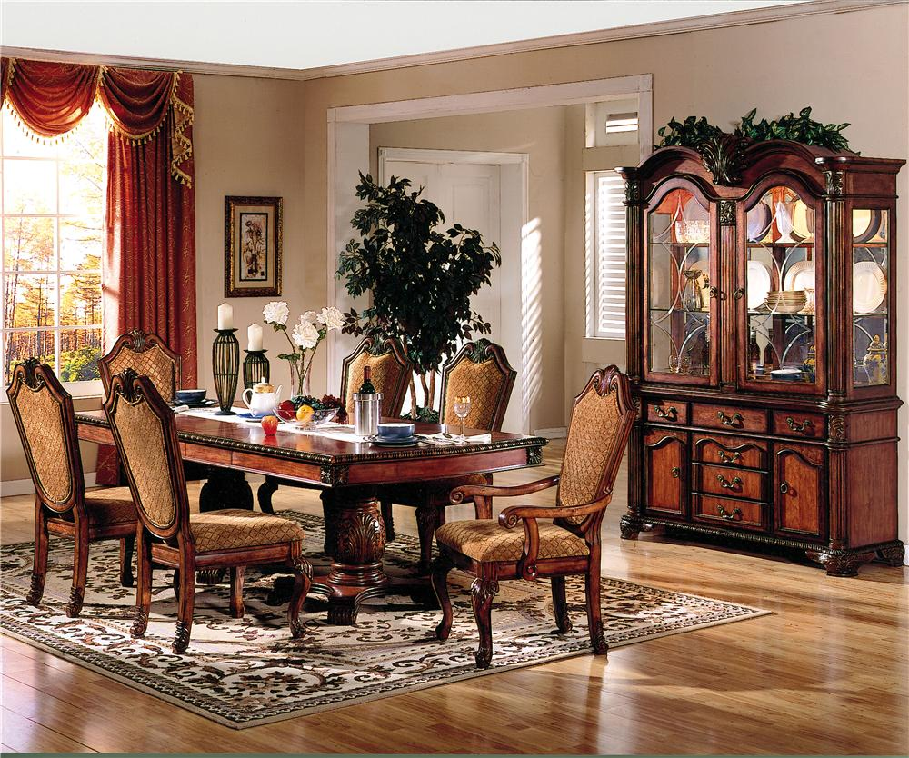 Acme Furniture Chateau De Ville 5 Piece Counter Height Dining Set With  Fabric Upholstered Chairs   Dream Home Furniture   Pub Table And Stool Sets  Roswell, ...