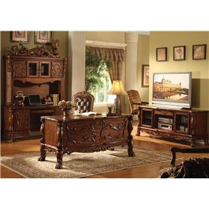 Acme Furniture Dresden Executive Office Arm Chair