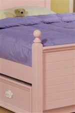Bed Post and Trundle Storage