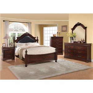 Acme Furniture Gwyneth Queen Bedroom Group
