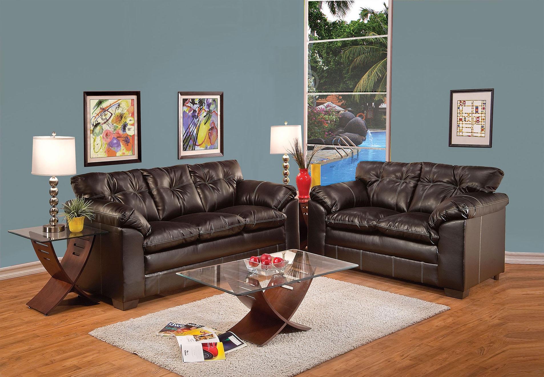 Acme Furniture Hayley Stationary Living Room Group - Item Number: 50350 Living Room Group 1