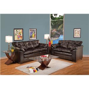 Acme Furniture Hayley Stationary Living Room Group