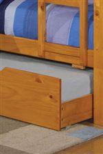 Optional Trundle Unit or Storage Drawers