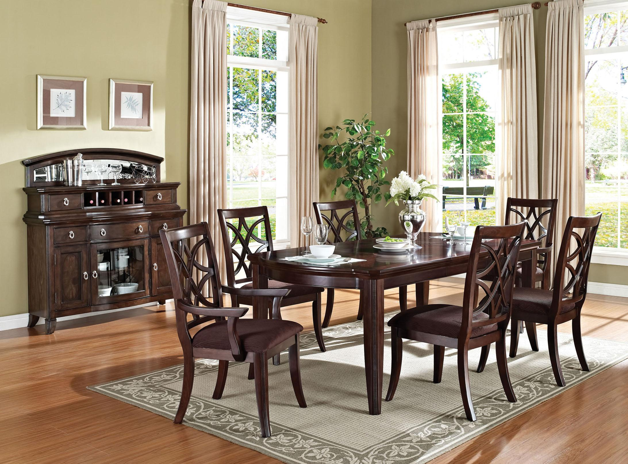 Acme Furniture Keenan Formal Dining Room Group - Item Number: 6025 Formal Dining Room Group