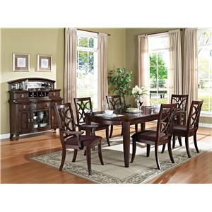 Acme Furniture Keenan Formal Dining Room Group