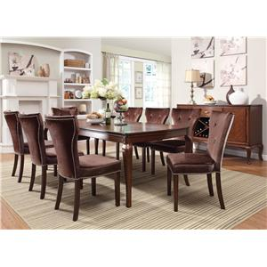 Acme Furniture Kingston Formal Dining Side Chair