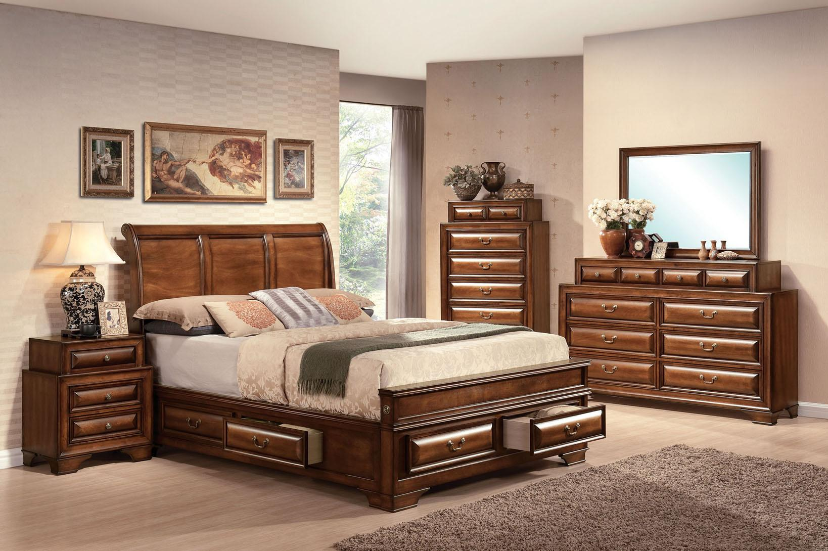 Acme Furniture Konane King Bedroom Group - Item Number: 204 K Bedroom Group