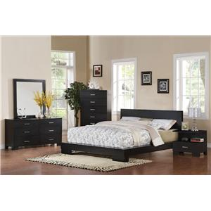 Acme Furniture London Platform Cal King Bedroom Group