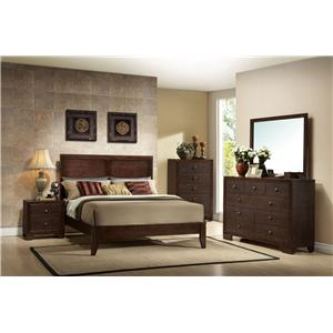 Acme Furniture Madison Cal King Bedroom Group