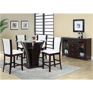 Acme Furniture Malik Casual Dining C.H. Group