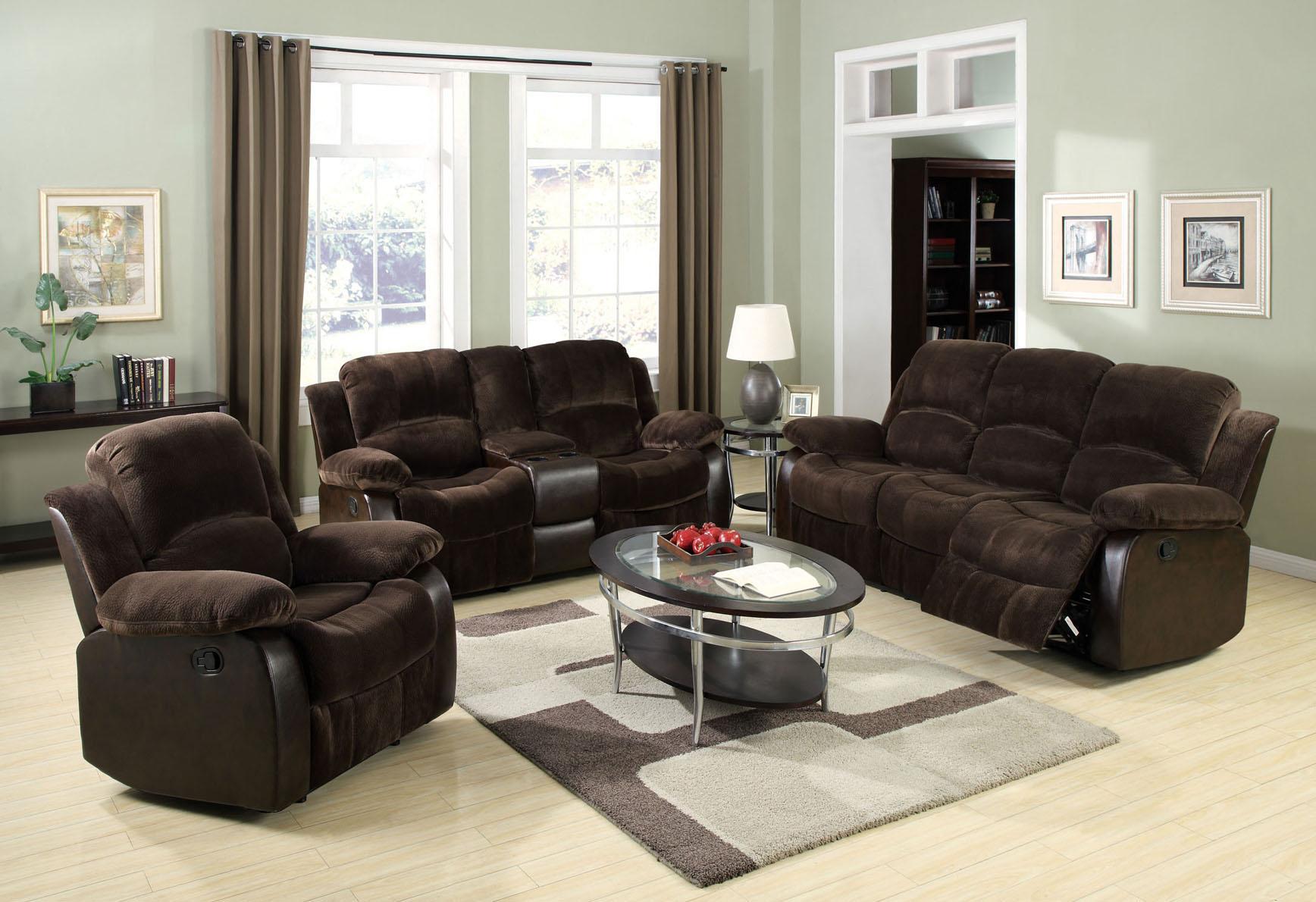 Acme Furniture Masaccio Reclining Living Room Group - Item Number: 50473 Reclining Living Room Group