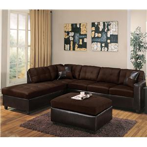 Acme Furniture Milano Chocolate Stationary Living Room Group