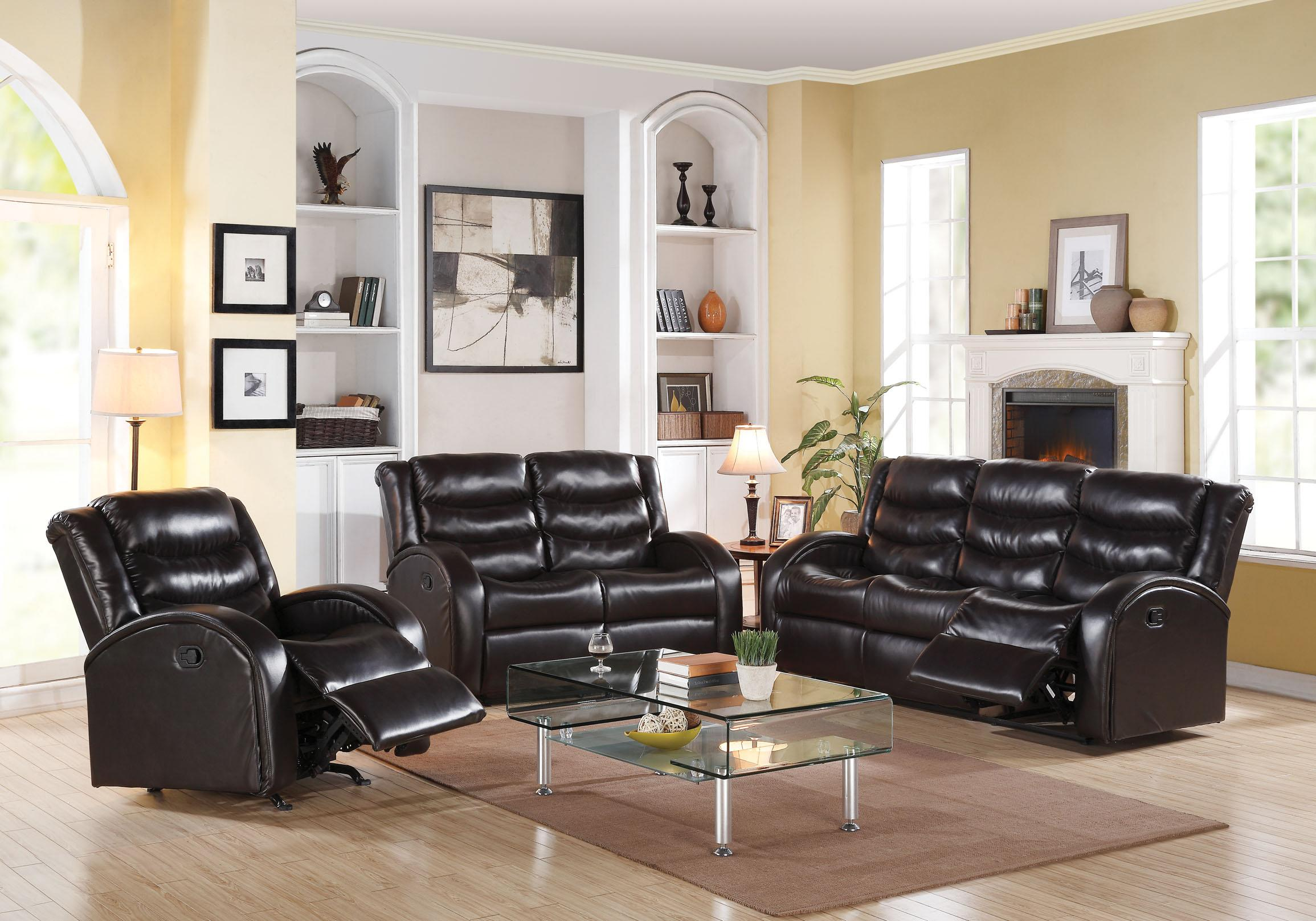 Acme Furniture Noah Reclining Living Room Group - Item Number: 5083 Living Room Group 1