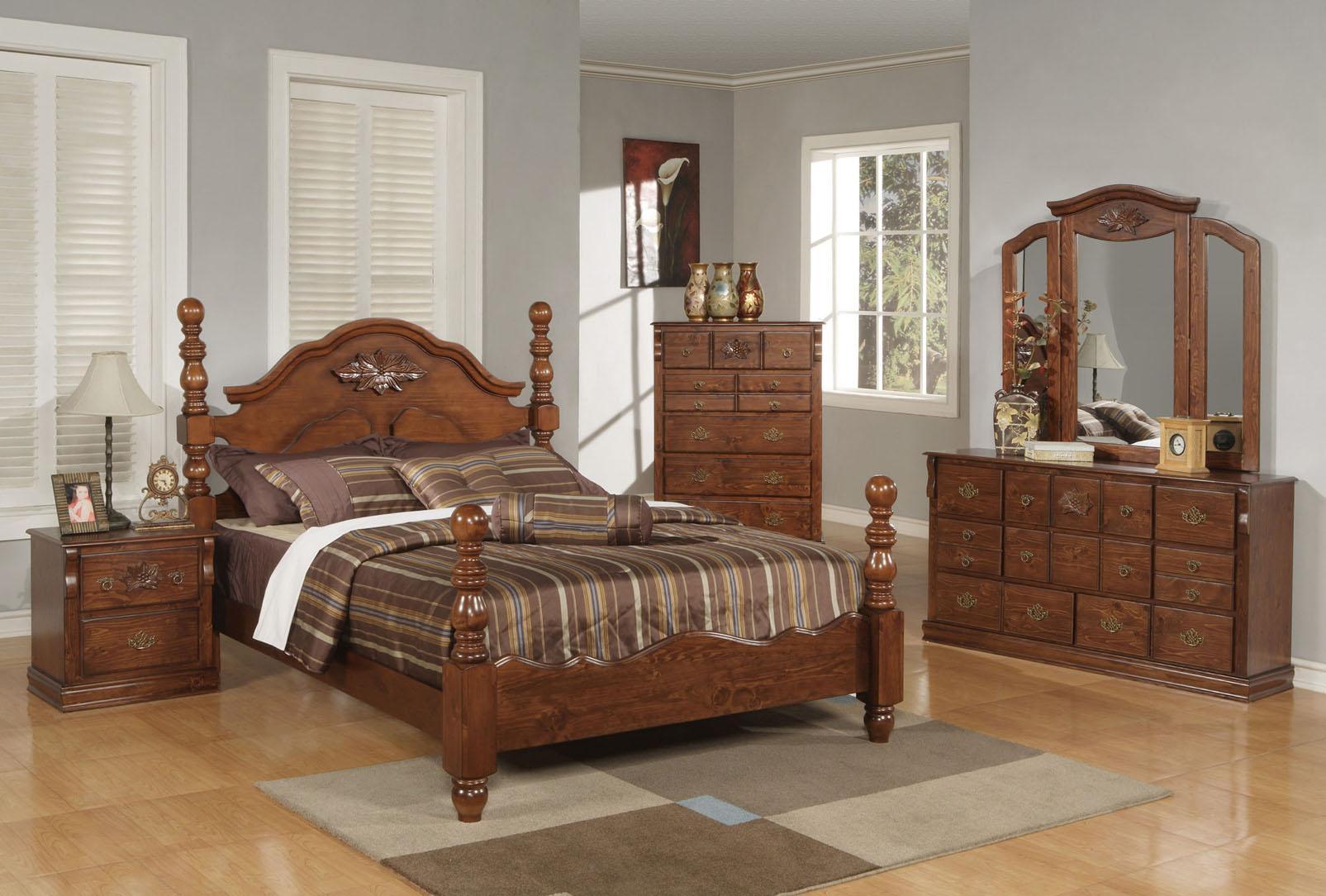 Acme Furniture Ponderosa Queen Bedroom Group - Item Number: 01712 Q Bedrom Group